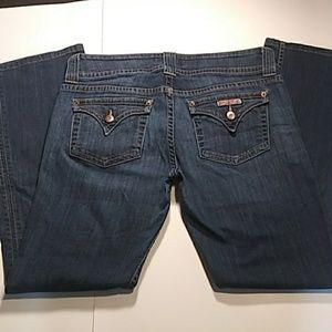 HUDSON Signature boot cut size 31 flap pocket